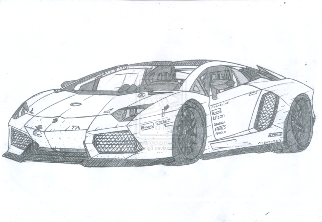 Lamborghini Huracan Malvorlage | Coloring and Malvorlagan | 742x1077