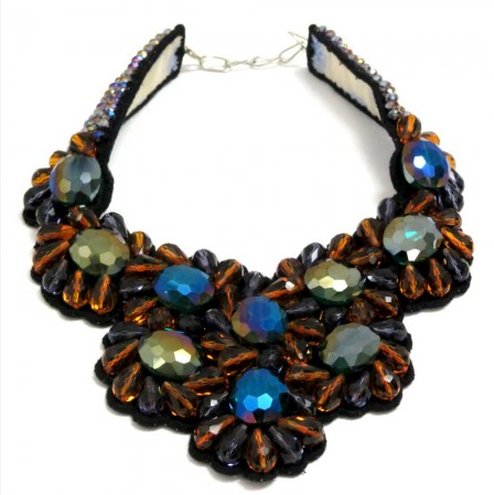 Foliage collar Necklace