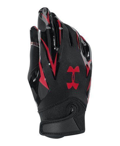 ua youth football gloves