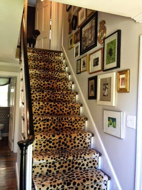 Best Cheetah Leopard Prints Are The New Stripes Staircase 400 x 300
