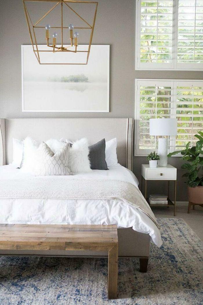 ▷ 1001 + Ideen für Schlafzimmer grau gestalten zum Entlehnen BEDS