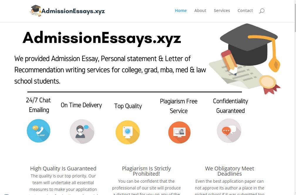 Law school admission essay service jetzt