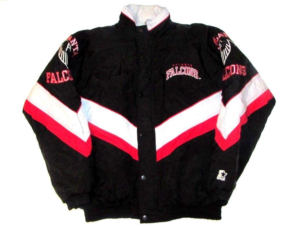 atlanta falcons starter jacket vintage solutions