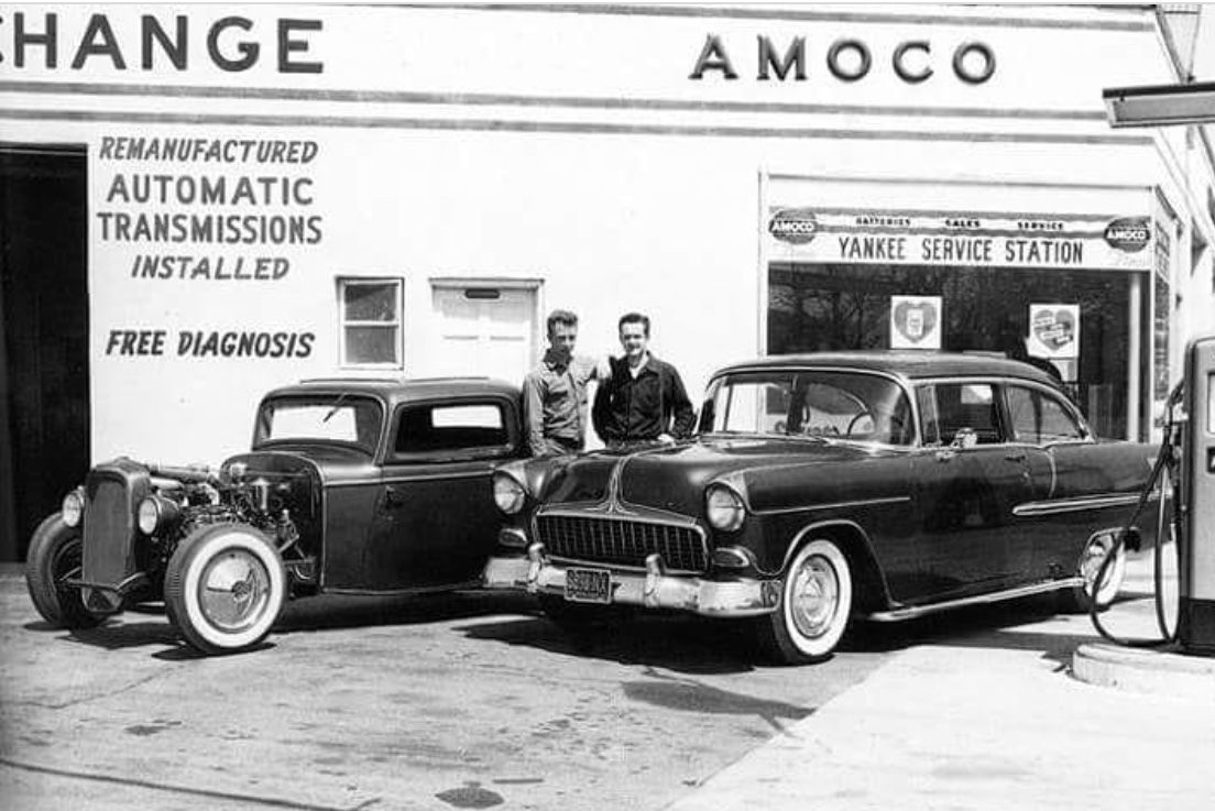 Pin by Scott Konshak on Vintage car dealers & gas stations ...