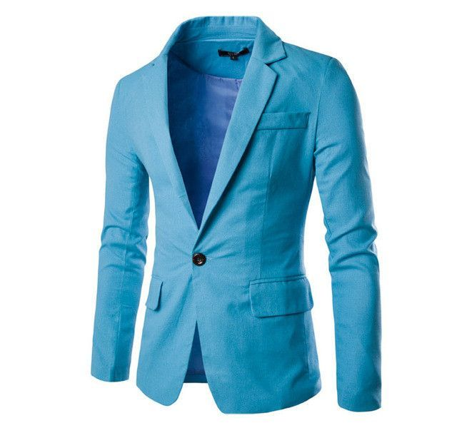 Hit Color Small Collar Design Men Blazer Jacket 2017 High quality Fashion  Slim Mens Blazers Comfortable Men Brand Clothing | Products | Pinterest |  Products