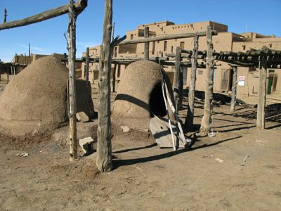 Ovens  from New Mexico native Americans