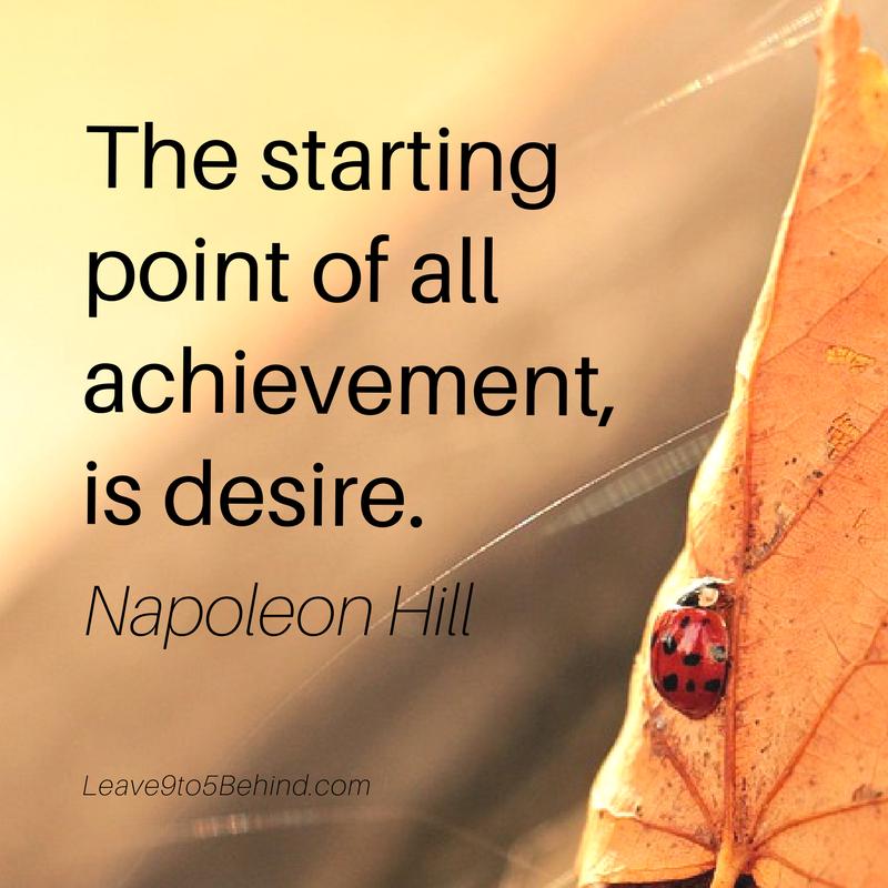 INSPIRATIONAL POSTER Achievement Ladybug
