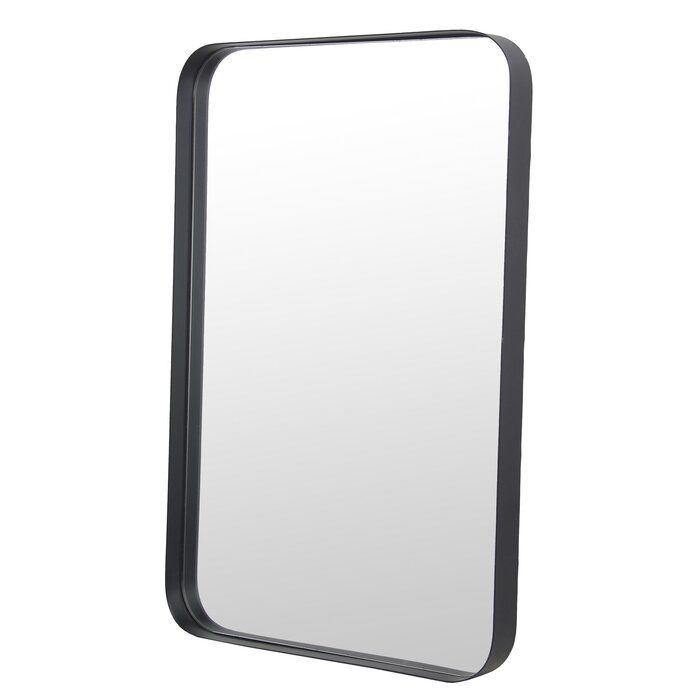 Photo of Nordstrom Rounded Edge Rectangular Metal Accent Mirror