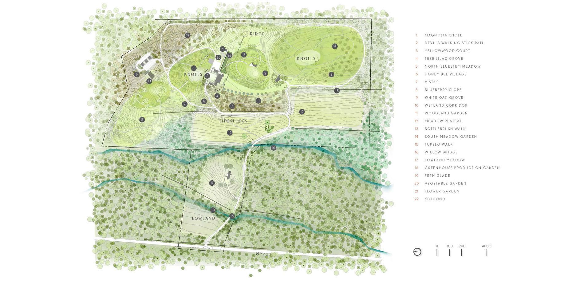 Proving Grounds A 20 Year Education In American Horticulture 2017 Asla Professional Awards Horticulture Landscape Plans 20 Years