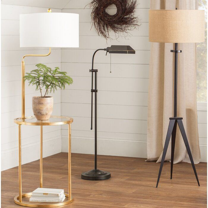 Farlow Tray Table Floor Lamp Traditional Lamps