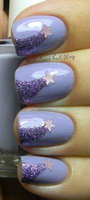 adorable make-a-wish nails from Neverland Nail Blog