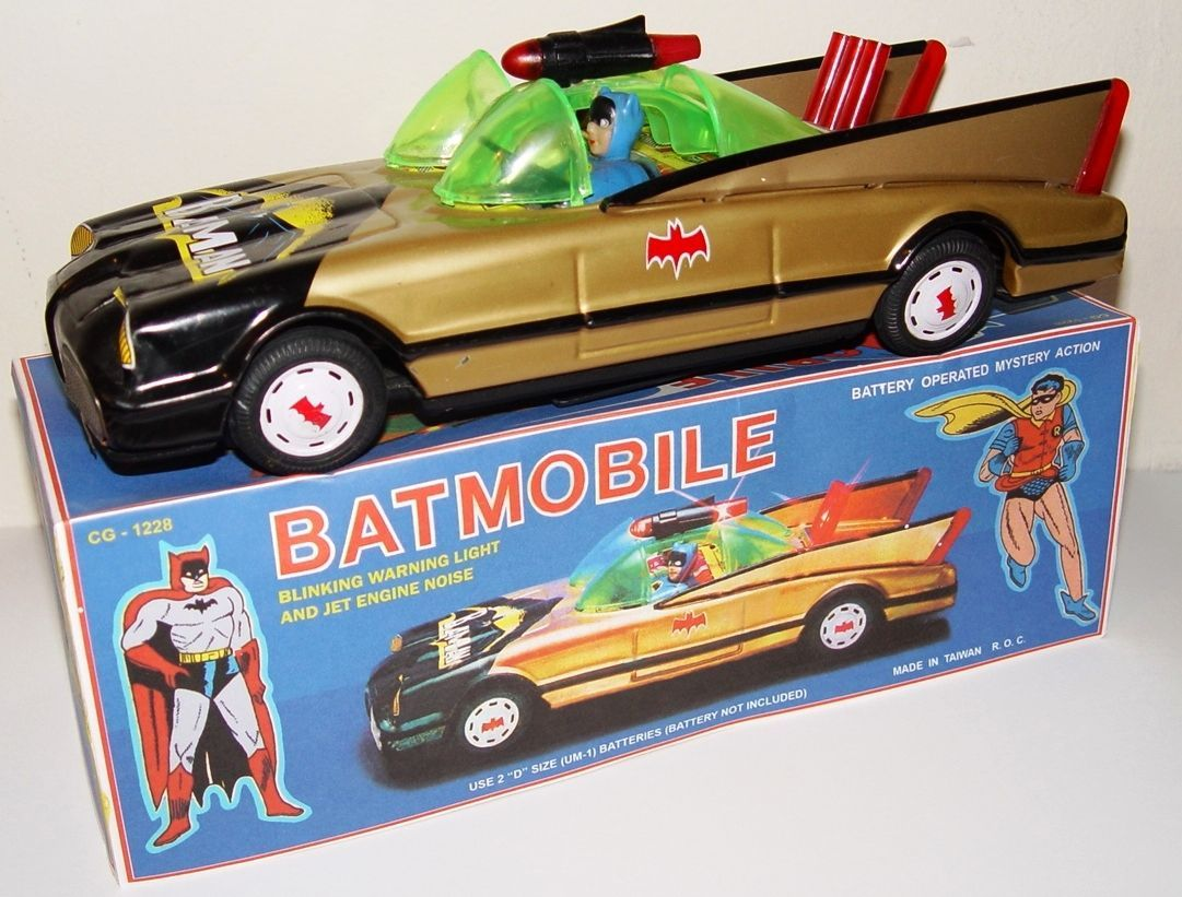 Toys car battery  Batmobile with missile Mustnut forget our missile  Batman toys