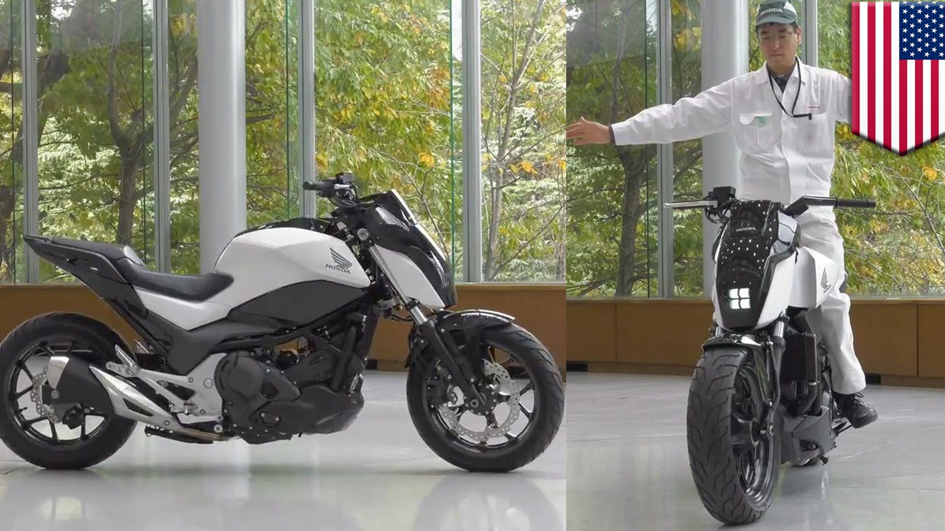 Future motorcycles: Honda self-balancing Riding Assist tech keeps bike b...