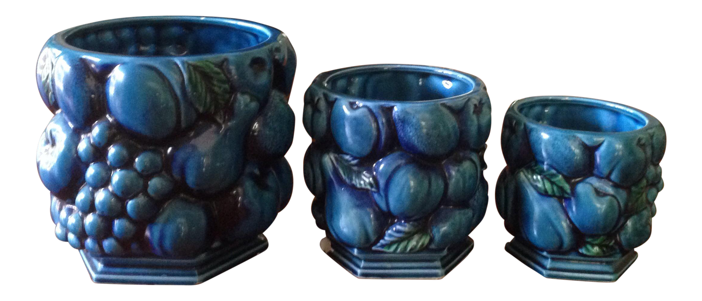 Inarco japanese pottery planters set of chairish a great re
