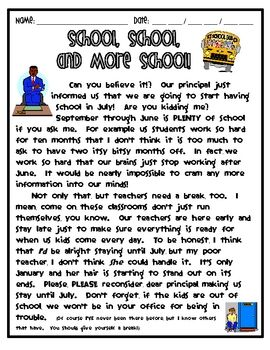 Persuasive Writing Story With Technique Question A Essay Grade 6