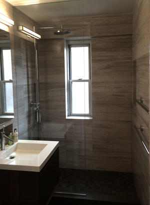 bathrooms — lower east side construction in 2020   modern