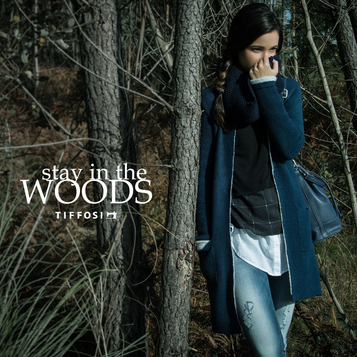 Stay in the Woods www.tiffosi.com  #tiffosi #tiffosidenim #lookbook #musthave #mood #look