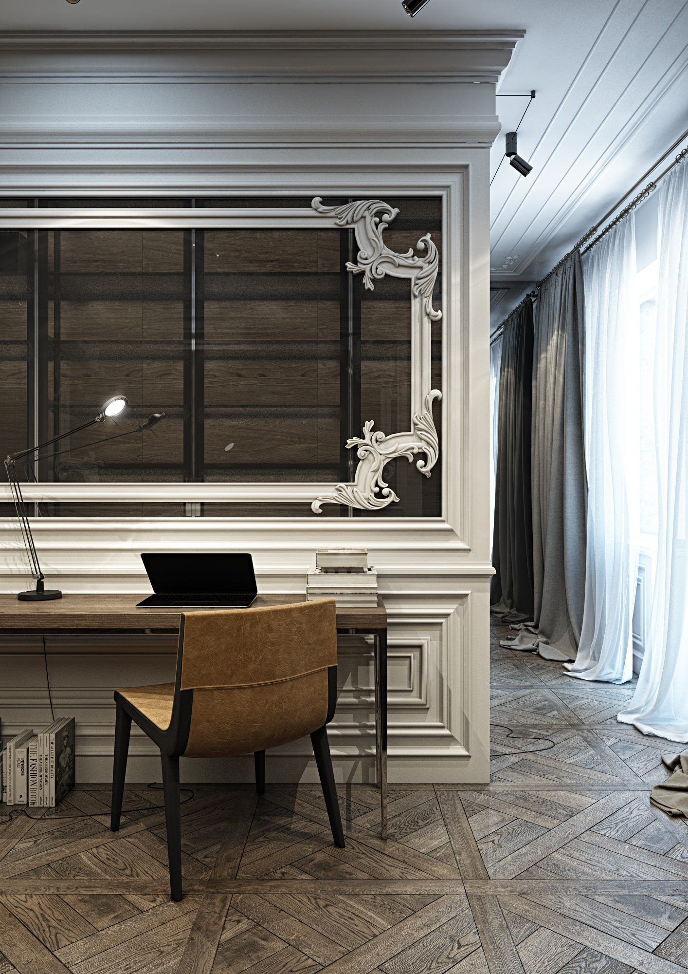 Modern French Doors To Office Home House Design Office Interiors