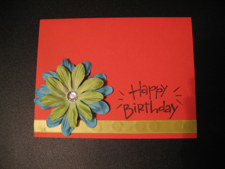 Cute Homemade Birthday Card