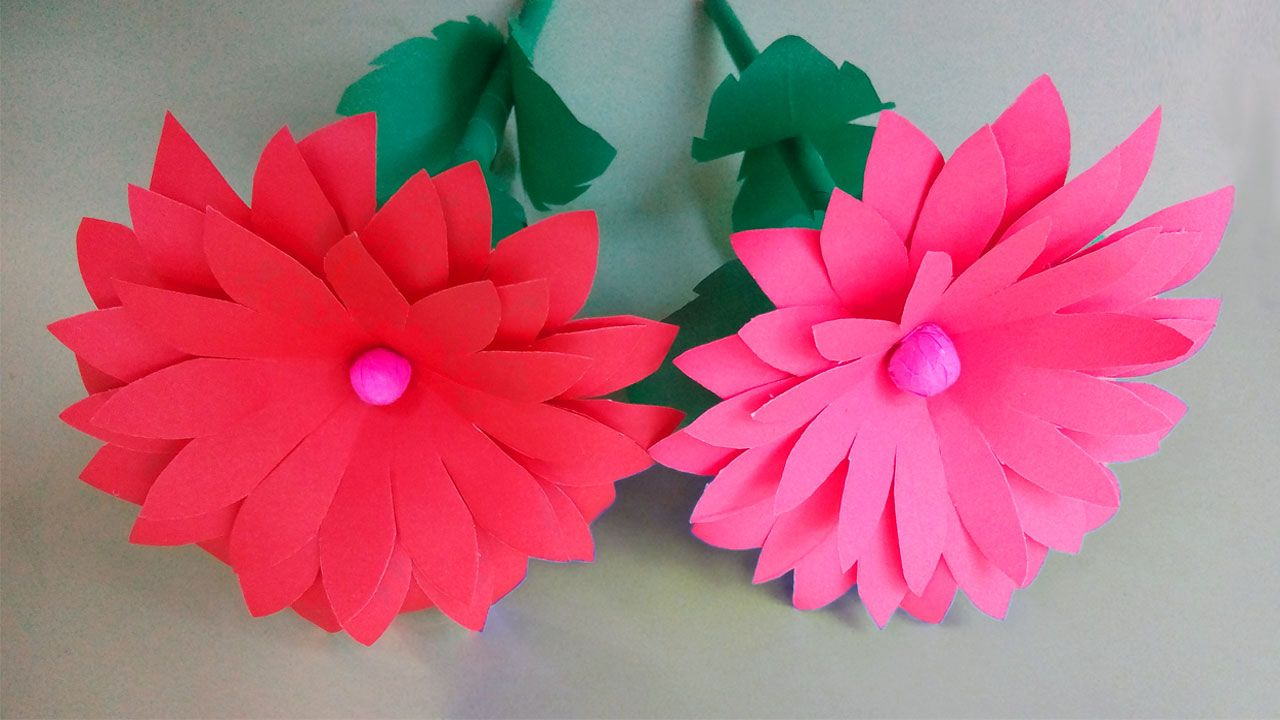 This Channel You Can Get Special How To Make Flower How To Make