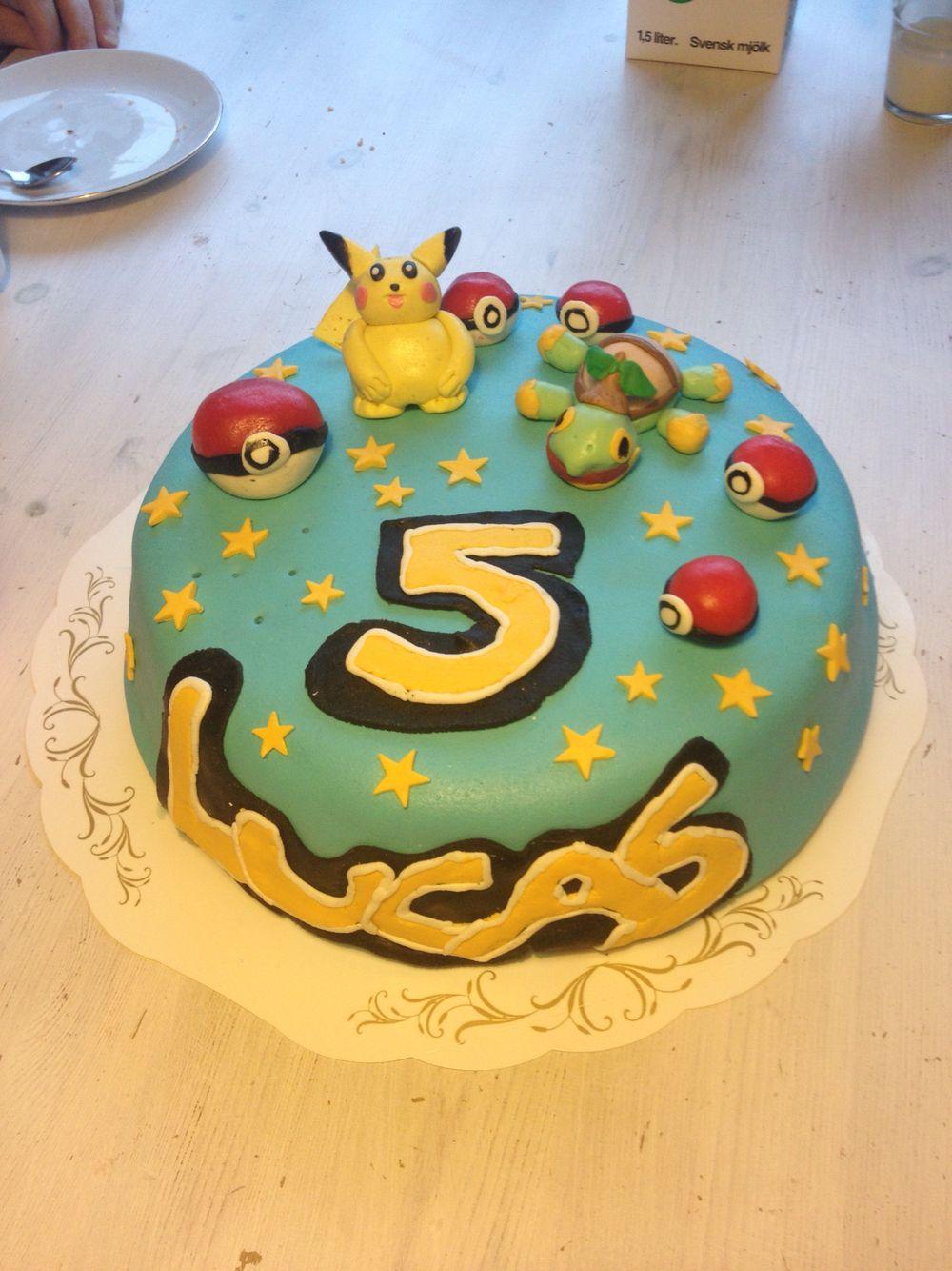 5 års tårta