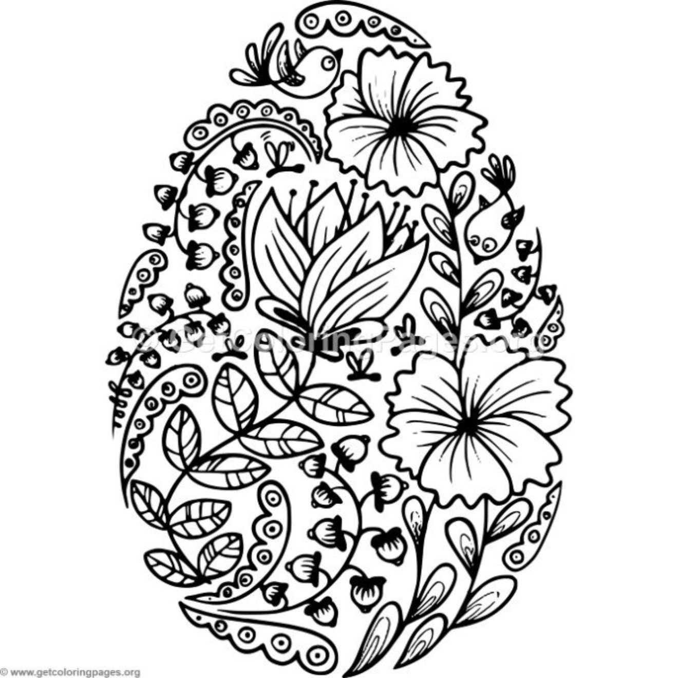 Easter Coloring Pages Getcoloringpages Org Coloring Easter Eggs Easter Egg Coloring Pages Egg Coloring Page