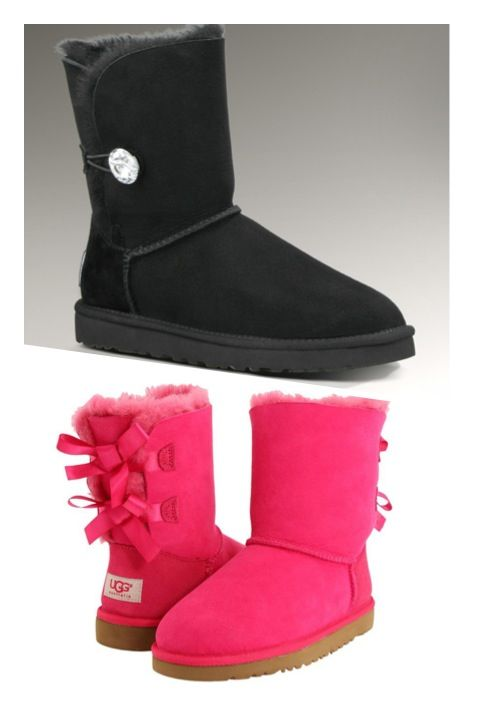 NEED THESE #Uggs #pink #bling