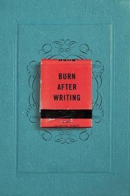 Pdf Download Burn After Writing Free By Sharon Jones Sharon Jones The Secret Book New Things To Learn