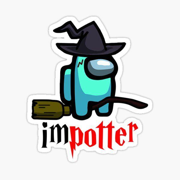 Among Us Harry Potter Sticker Harry Potter Stickers Harry Potter Images Harry Potter Wallpaper