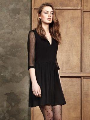 La folie des petites robes noires !   Plumetis, Robes noires et ... d682193f38c8