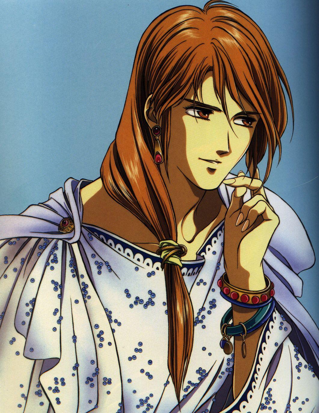 Narsus from heroic legend of arislan anime novel