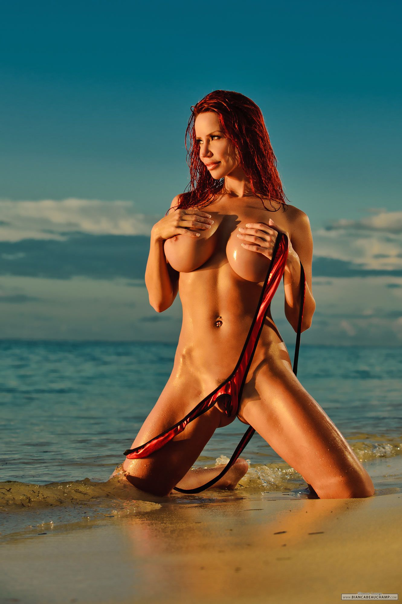 Nude sling beauchamp bikini bianca