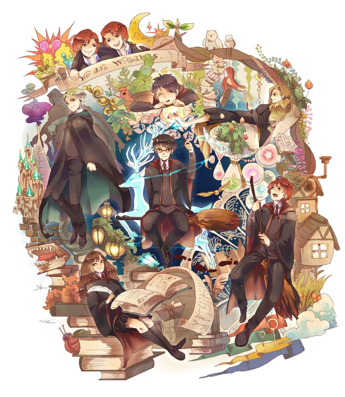 /Harry Potter/750831 Zerochan ILLUSTRATIONS_薄塗