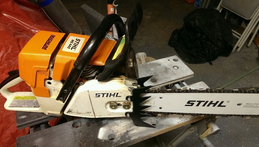 stihl ms 440 magnum chainsaw. Black Bedroom Furniture Sets. Home Design Ideas
