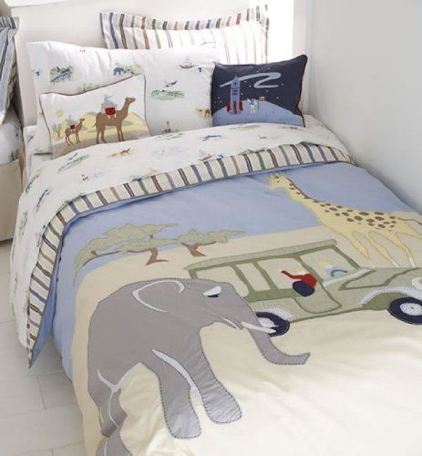 Whistle Amp Wink Adventure Reversible Twin Duvet Cover By