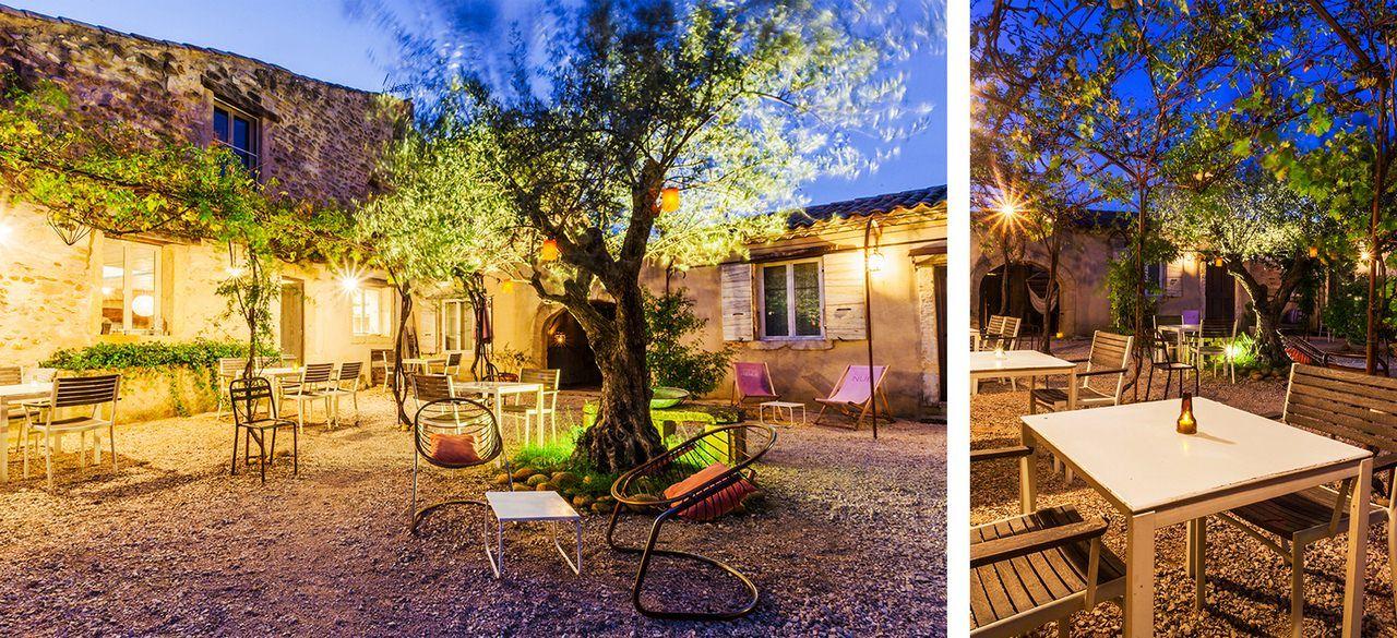 Chambres d\u0027hotes de charme en Provence proposant massages et table d