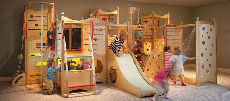 Go To Cedarworks Com To See These Indoor Playroom Kids Indoor Playground Indoor Playset