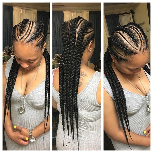 Feeding Braids Hair Styles Braided Hairstyles Hair