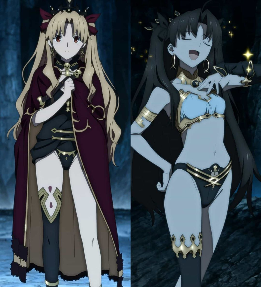 100 Best Fate Rin Ishtar N Ereshkigal Images In 2020 Ishtar Fate Tohsaka Rin