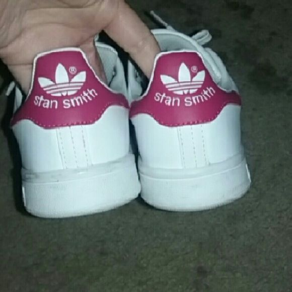 Stan smith Adidas Only wore once  Willing to trade  Still have box Adidas Shoes Sneakers