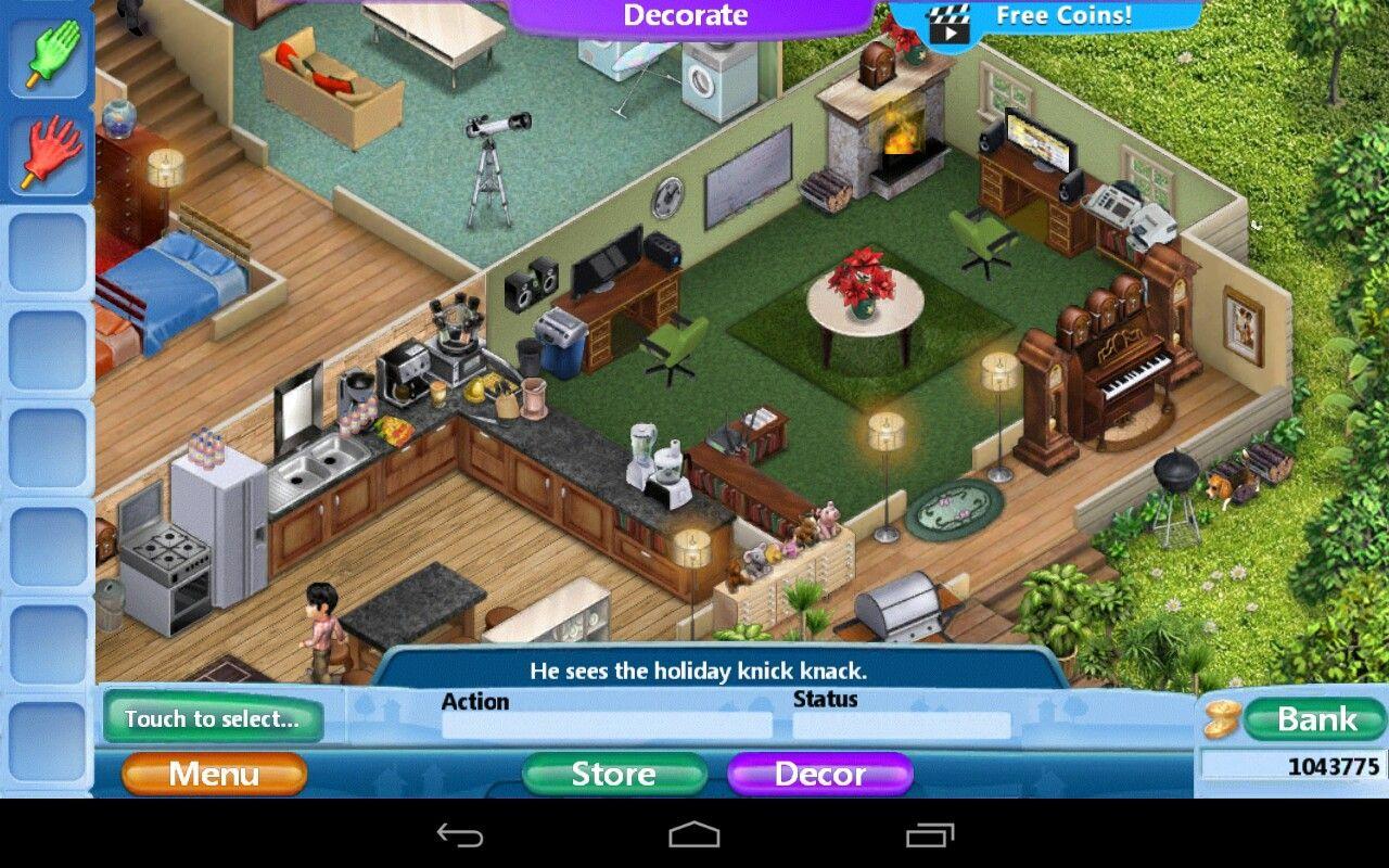 House design virtual families 2 - Virtual Families 2 Our Dream House Walkthrough Virtual Families Pinterest Virtual Families