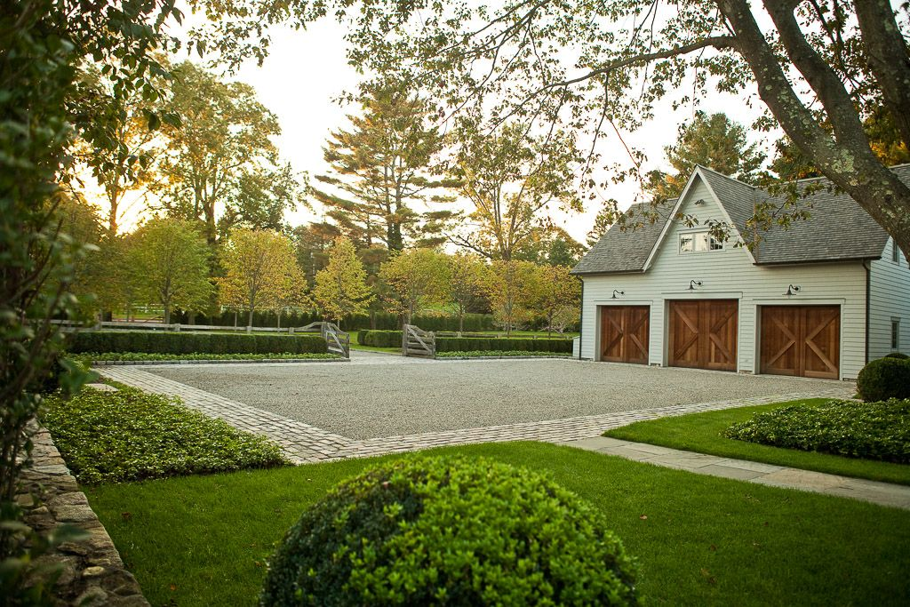Doyle herman design associates landscape design driveway for Courtyard driveway house plans