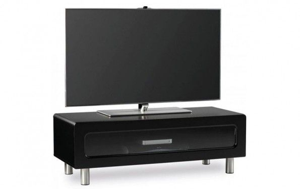 5 Types Of Different Black Tv Stands With Glass Doors Tvstand