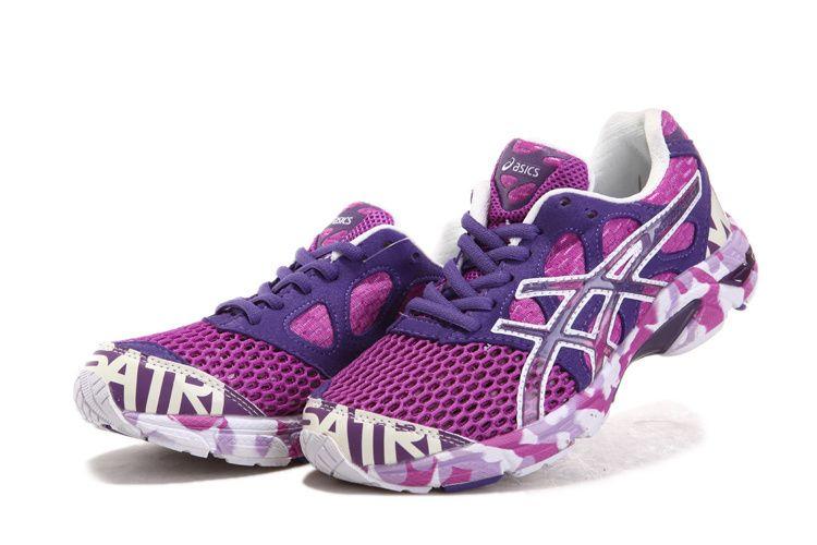 Womens Asics Gel-noosa TRI 7 Shoes Purple Blue White