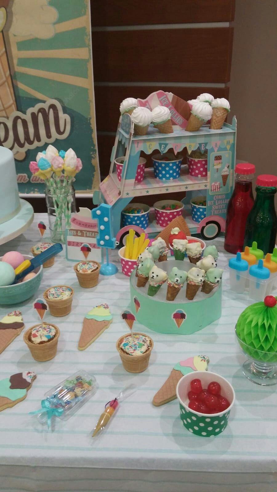 Ice cream party Ice cream party, Birthday, 5th birthday