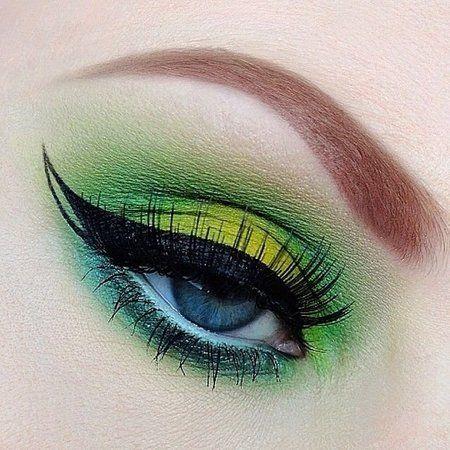St. Patty's Day Eye Makeup! - Joanne Carls