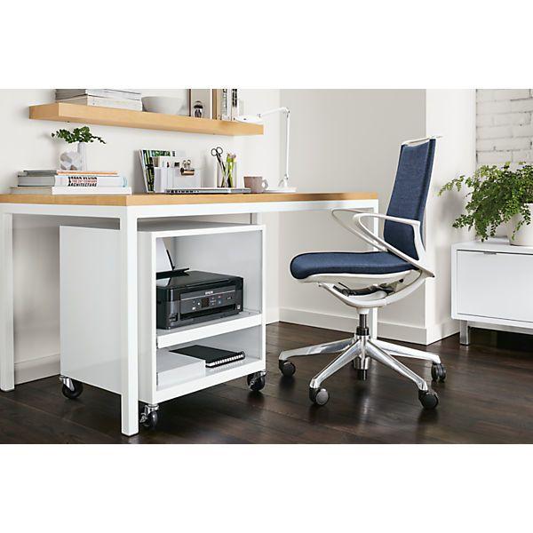 Room Board Pratt 60w 24d 29h Table Office Furniture Modern Contemporary Desk Filing Cabinet Storage