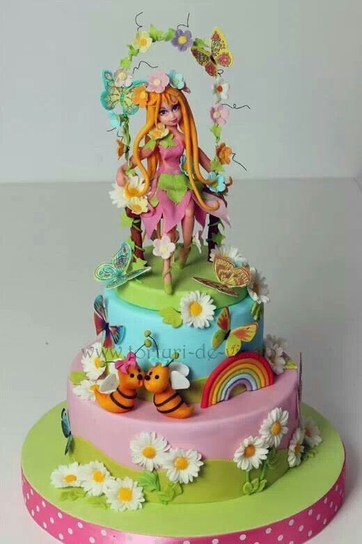 Goldilocks Disney Fairies Cake