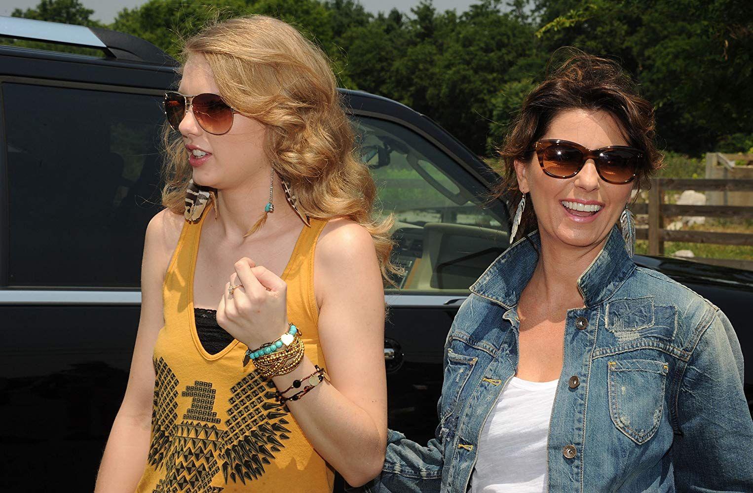 Shania Twain and Taylor Swift Shania twain, Taylor swift