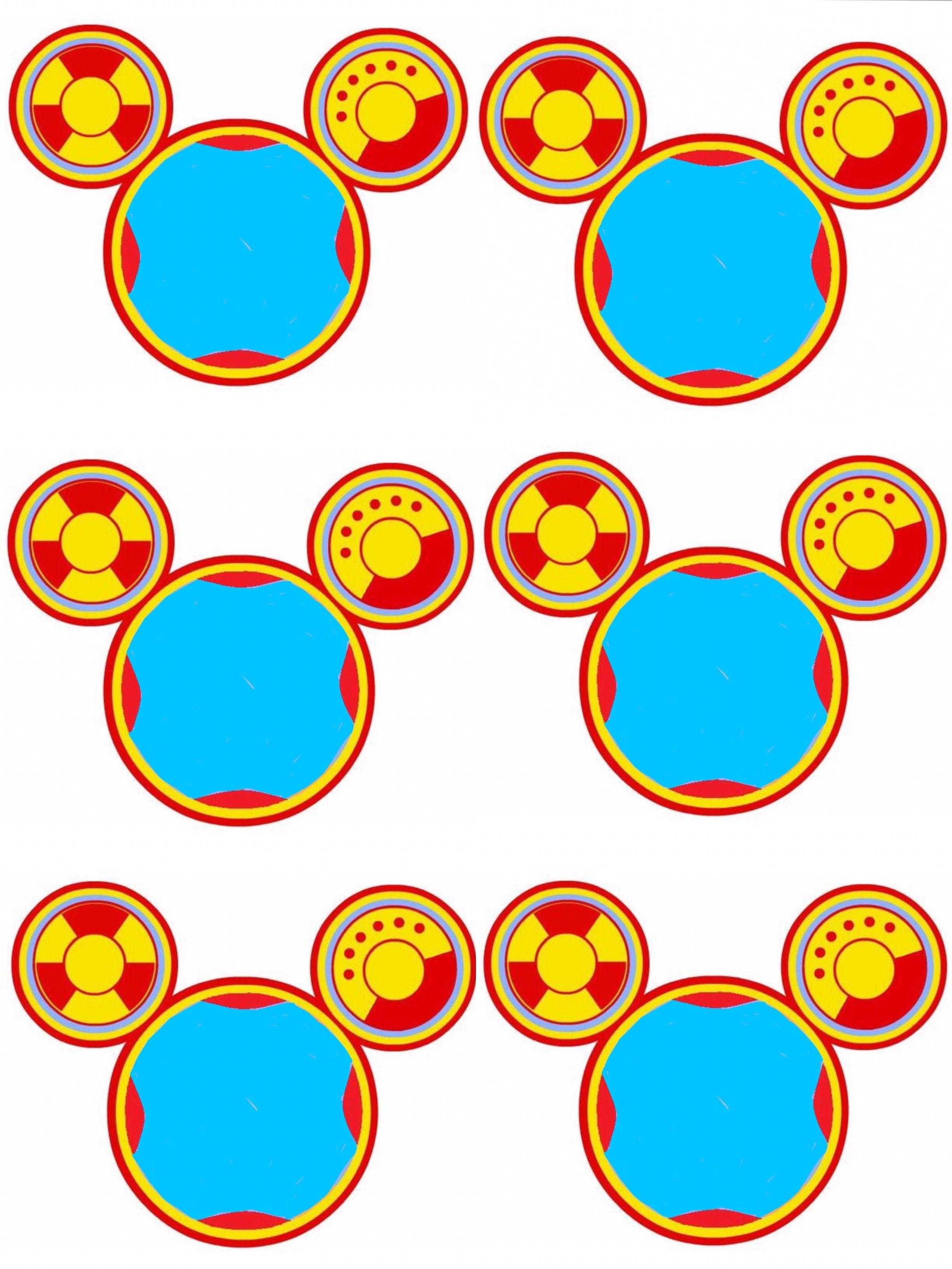 Pin De Carolina En Fiesta Alexis La Casa De Mickey Mouse